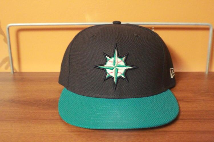 the latest 90255 4ad1b Size 7 Seattle Mariners New Era Diamond Era 59FIFTY