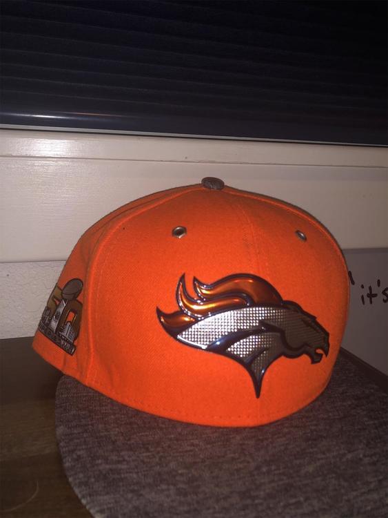 b06ad1b4 Denver Broncos Super Bowl 50 Hat