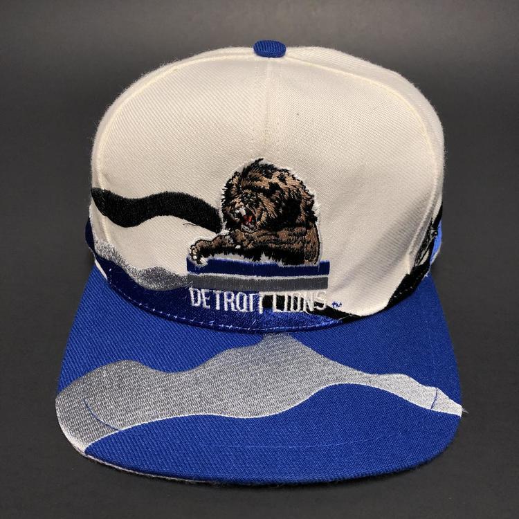 d4638d54 Vintage Detroit Lions Snapback Hat