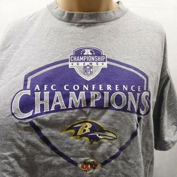 sale retailer aa4f2 91980 Nike L Baltimore Ravens AFC Champions Shirt Super Bowl XXXV ...