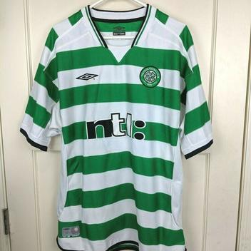 cheap for discount 814ff ce002 Celtic Soccer Club Ntl Umbro Jersey Mens Size XL | Football ...