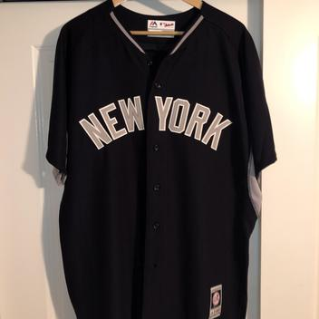 new product e0865 d0a64 New Aaron Judge New York Yankees Batting Practice Jersey Adult XL
