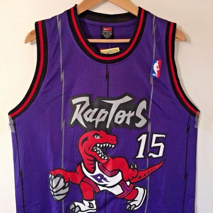 free shipping 743bf a3275 Vince Carter Raptors Throwback Jersey