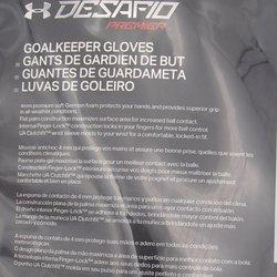 diseño novedoso realmente cómodo cómo hacer pedidos Under Armour FREE BALL new DESAFIO PREMIER GLOVES sz 12 Goalie ...
