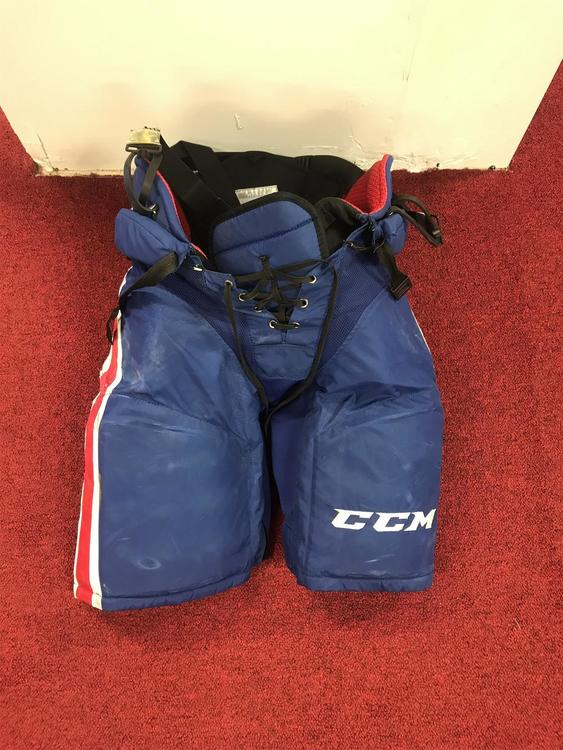 Rochester Americans CCM HP45x Pants Size Large Pro Stock Item#ROP1