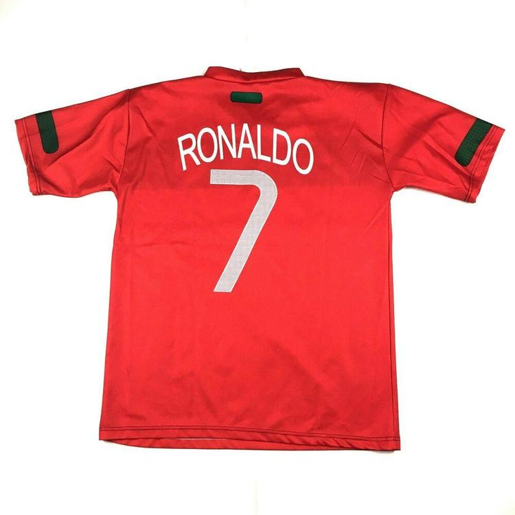 new style 25378 43e56 Christian Ronaldo Team Portugal Football Jersey #7 Red/Green Sz Medium |  Soccer Apparel & Jerseys | SidelineSwap