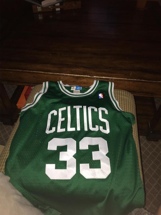 sports shoes c712c 914f9 Adult Small Larry Bird Jersey