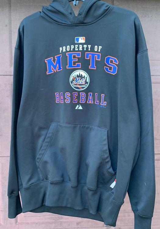 super popular abafd b14a0 NY Mets Hooded Sweatshirt - Adult M