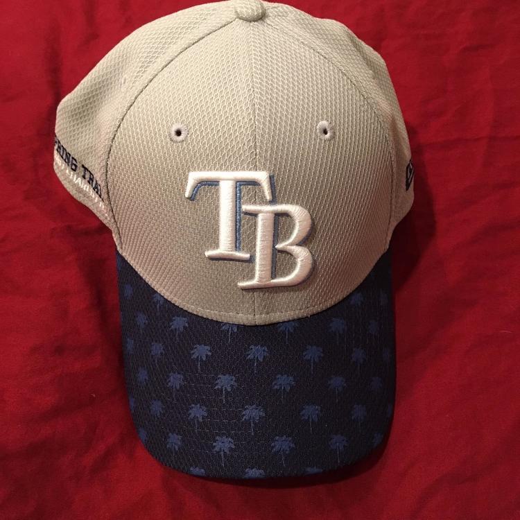 654caec2 RARE Tampa Bay Rays Port Charlotte, FL MLB Spring Training New Era SnapBack  Hat - NEW