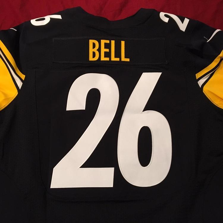 Le'Veon Bell Pittsburgh Steelers Nike NFL ON FIELD Authentic Football Jersey Size 48   SidelineSwap