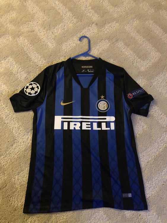 the best attitude a1541 71be9 New medium 18-19 Inter Milan Jersey (Politano #16)
