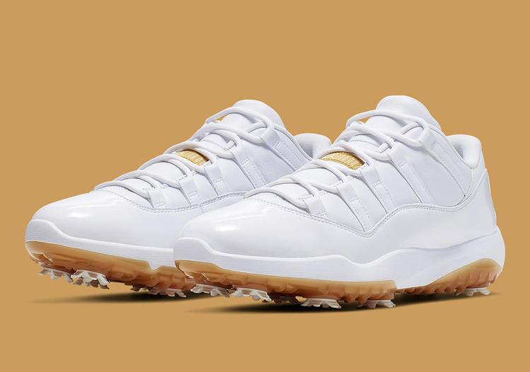 New Nike Jordan 11 Golf Shoes AQ0963-102 Size 12