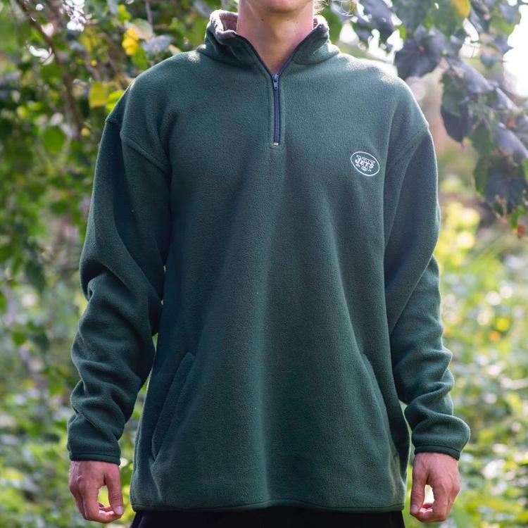 separation shoes 24263 42464 New York Jets Quarter Zip Fleece Sweatshirt