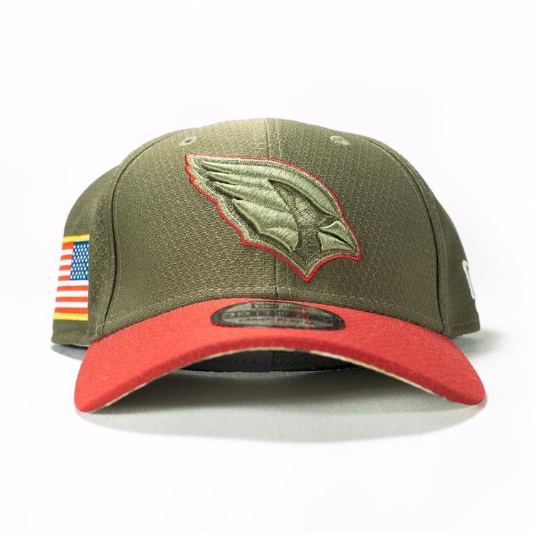 sports shoes 6f63e a5a0f NWT Arizona Cardinals Salute To Service SnapBack Hat