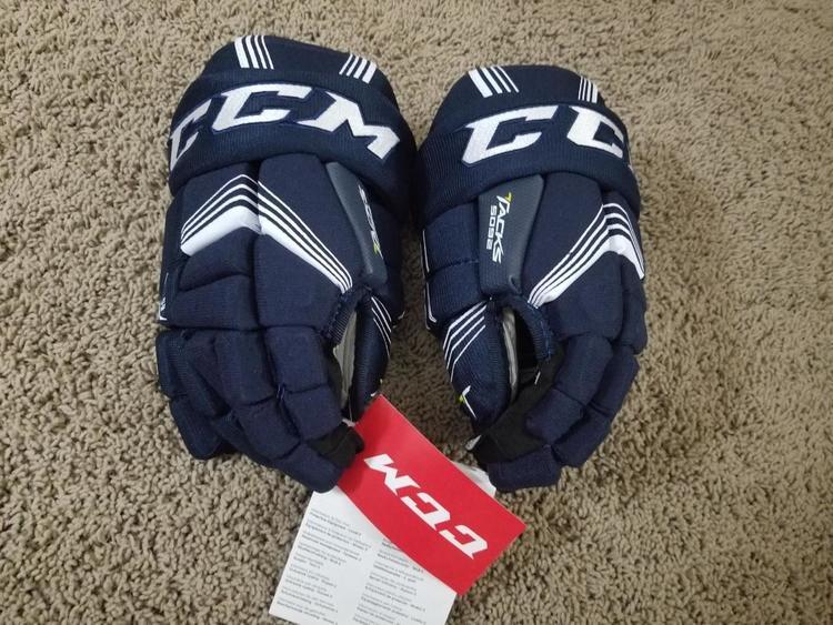 myydään maailmanlaajuisesti paras asenne säästää New with Tags CCM Tacks 5092 Gloves Junior size 11