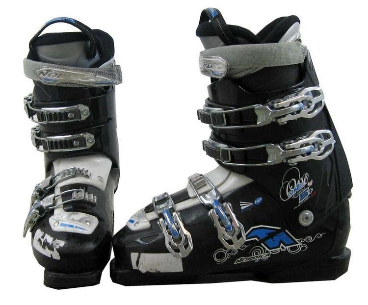Used Ski Boots >> Nordica One Easy 5 Women S Ski Boots Mondo 23 5 Womens 6 5 Used