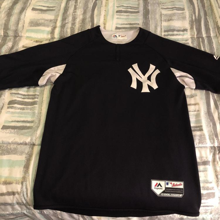 premium selection 17f48 dac69 New York Yankees Batting Practice Cool Base Shirt