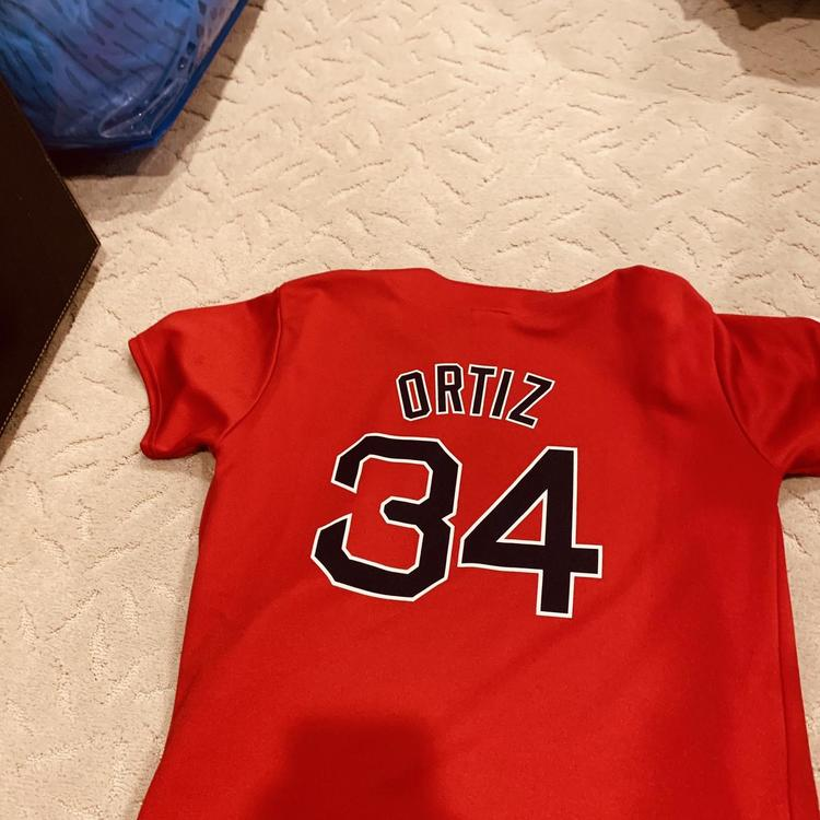 on sale ca294 b8f03 david ortiz red sox jersey, size YXL (fits adult small), amazing condition