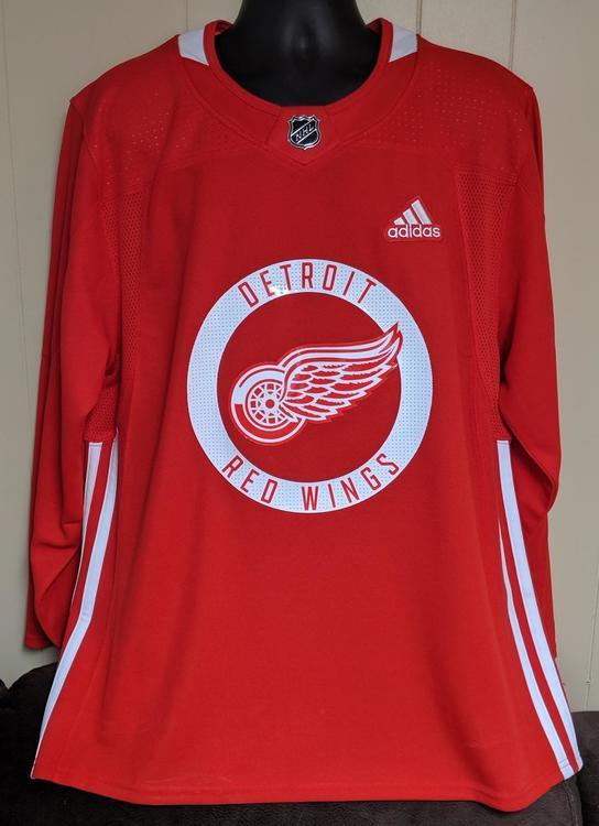 new product b4942 08579 *NEW* Detroit Red Wings Jersey - 54
