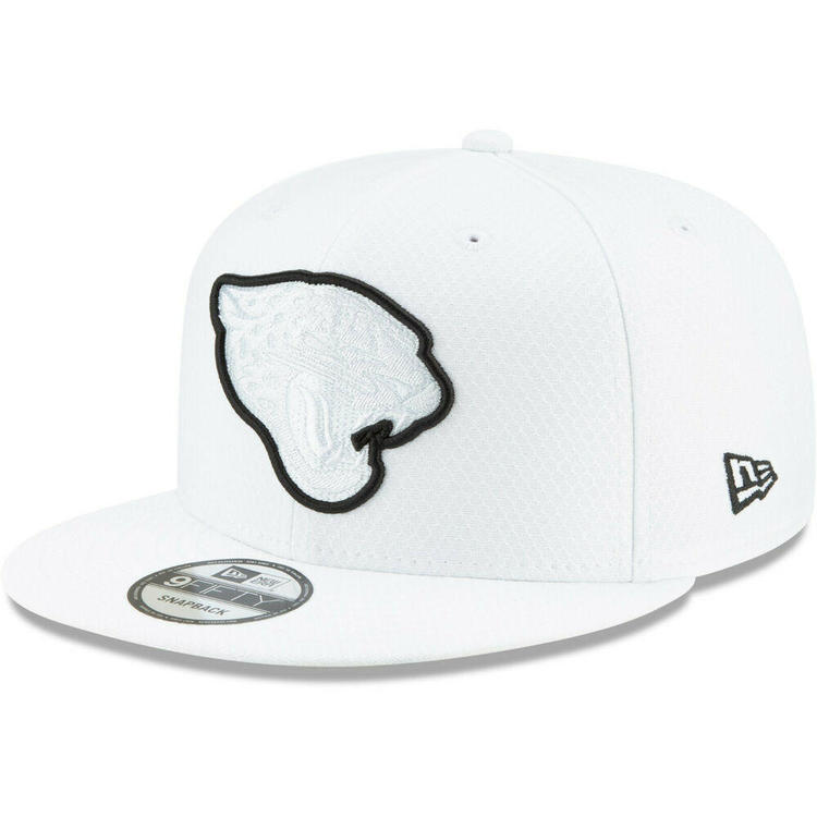 0ff41f1be 2019 Carolina Panthers New Era 9FIFTY NFL Platinum Sideline Snapback Hat Cap