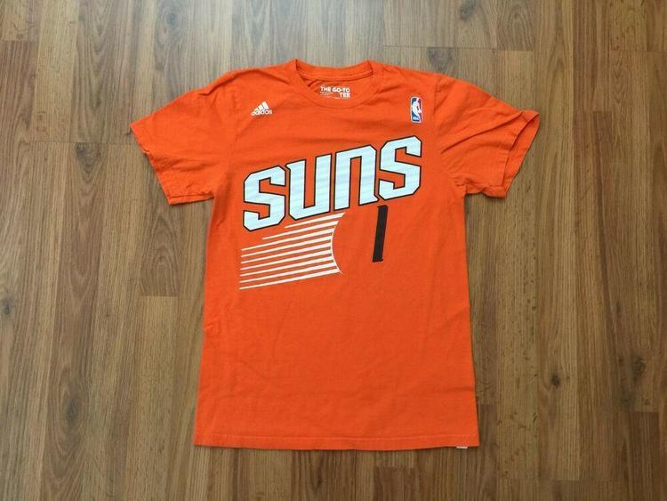meet e49fc eeef4 Phoenix Suns #1 Goran Dragic NBA SUPER AWESOME Sz S Adidas Jersey T Shirt!