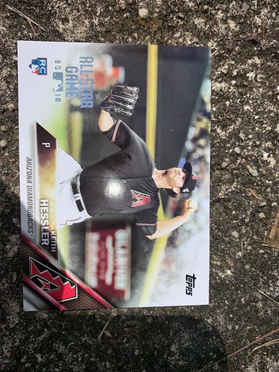 2016 Topps Keith Hessler All Star Game Card