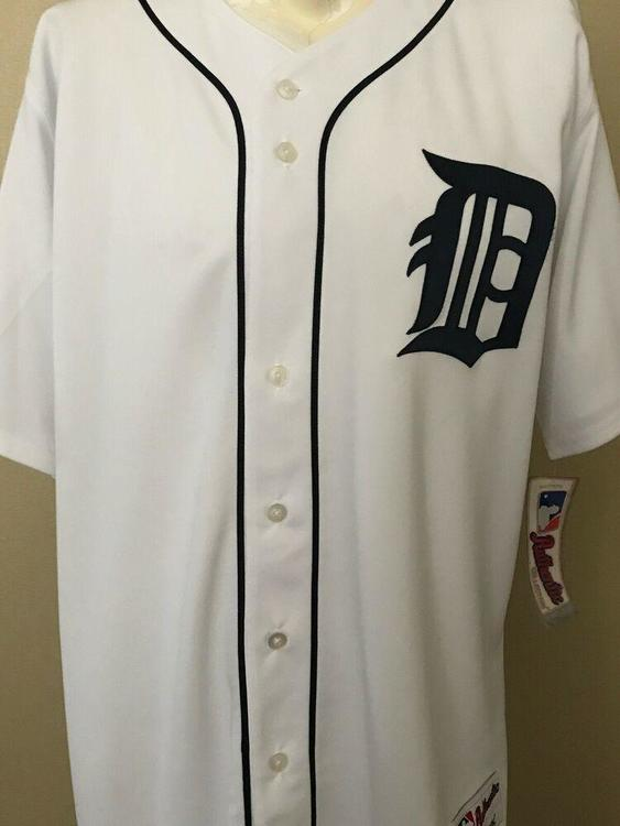 online store 31f01 db26b Detroit Tigers Authentic Jersey
