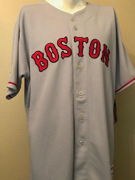 promo code fbf1e 6c430 Boston Red Sox White Home #99 Authentic Jersey