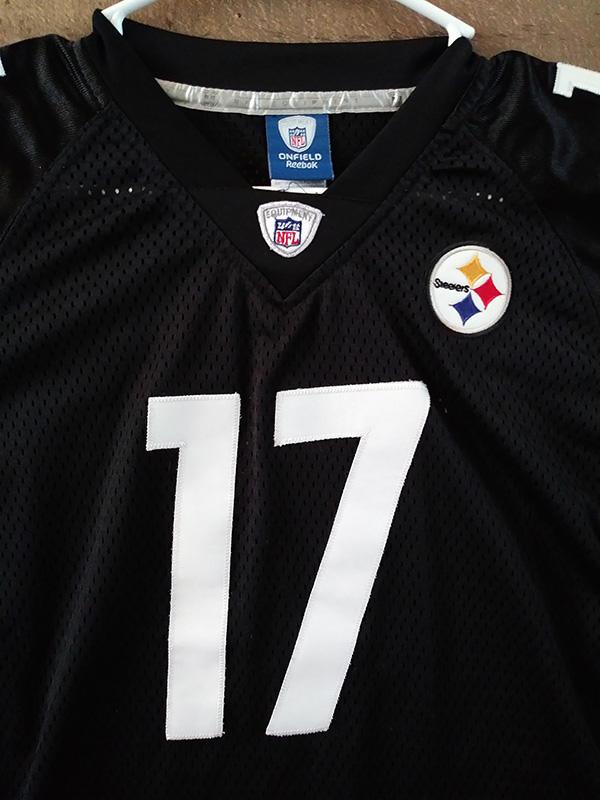Reebok Onfield NFL Football PITTSBURGH STEELERS #17 Mike ...