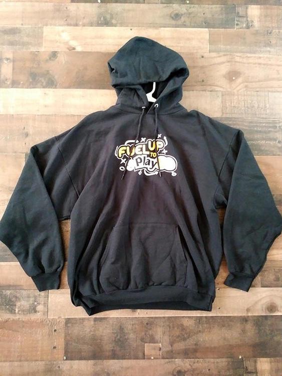 watch c7cb4 f3cc7 NFL Football PITTSBURGH STEELERS Black Fuel Up To Play 60 Health Wellness  Hoodie Sweatshirt