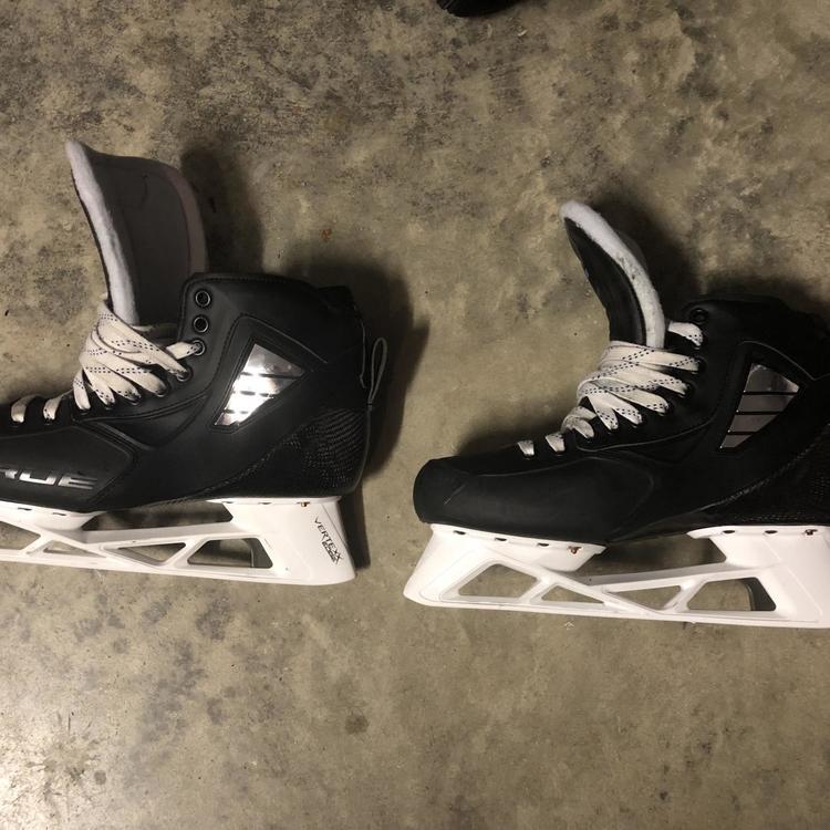 True Hockey Goalie Skates Senior Pro Stock Size 10