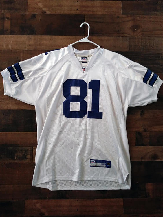 new arrivals f9c24 e6123 New Reebok NFL Football DALLAS COWBOYS #81 Terrell Owens Embroidered Player  Jersey