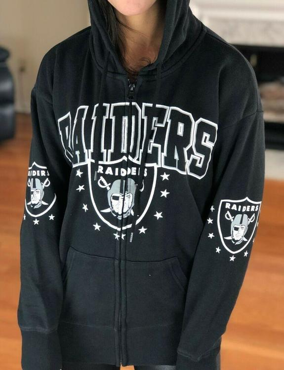NFL Oakland Raiders Home Pride Full Zip