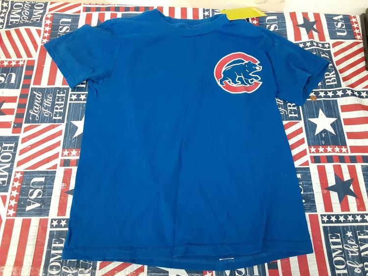 timeless design 756ab 32c8f Chicago Cubs youth shirt Baez 9 136750