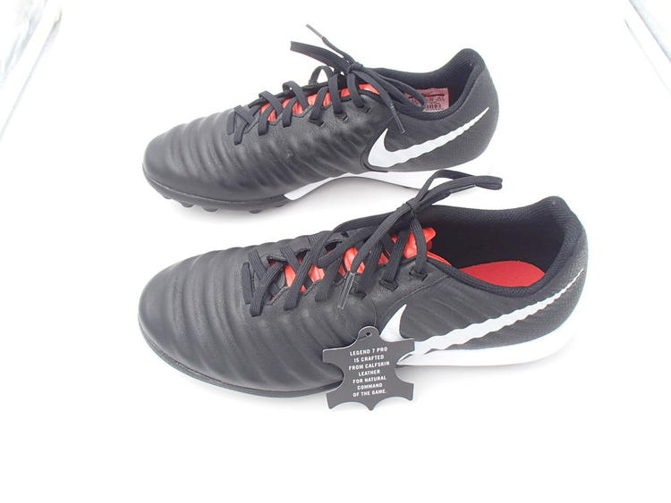 new product 6ea67 00bf8 FREE soccer BALL Nike TIEMPO Lunar Legend 7 PRO tf TURF Soccer cleats mens  8.5 LEATHER