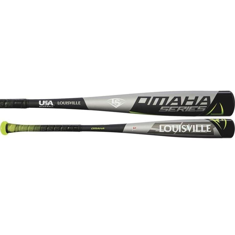 WTLUBO518B10 -10 New Louisville Slugger Omaha 518 2018 Usa 2 5//8 Barrel Bat