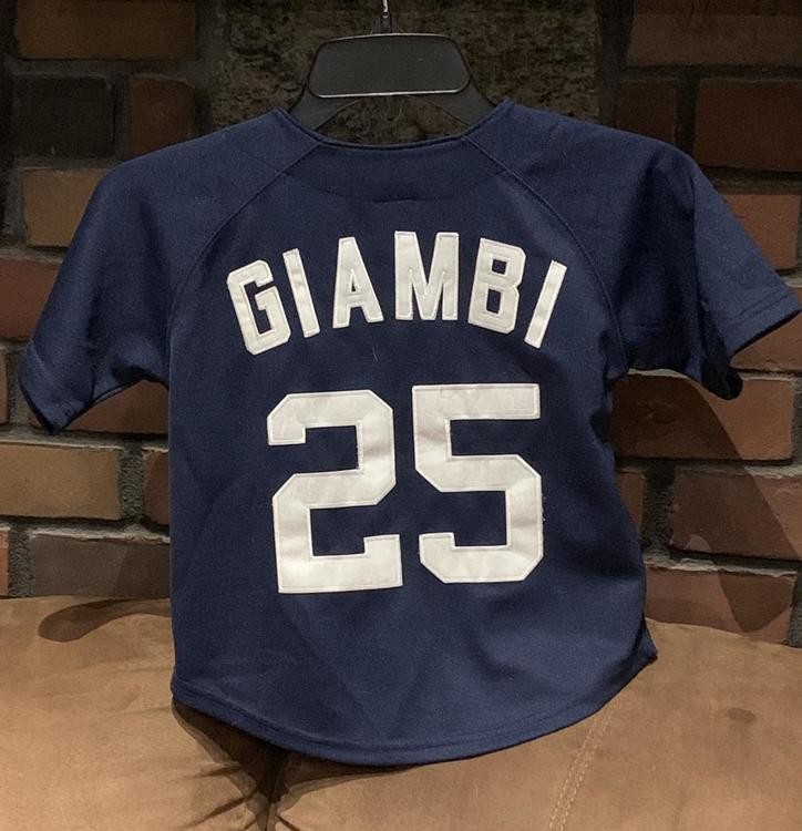 competitive price 3d4e3 caaef Jason Giambi #25 - NY Yankees - Youth Jersey