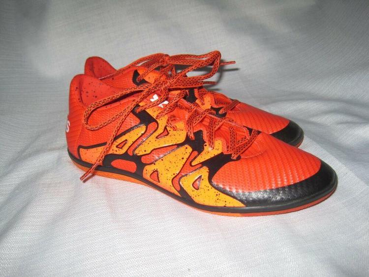 online retailer e0528 4183f Adidas X 15.3 Soccer Shoes Men's 8.5 Indoor Firm Ground Orange
