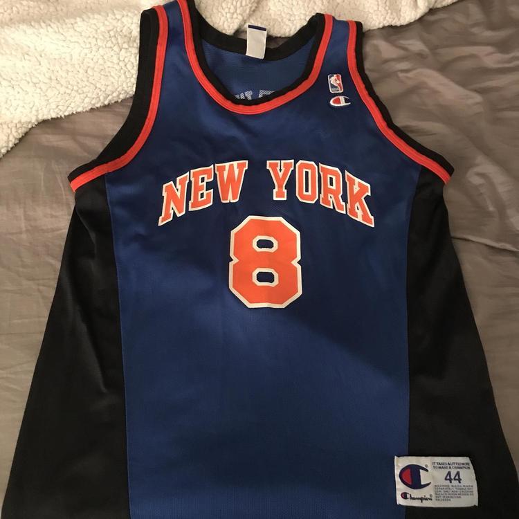 new product e48f5 d4abb Large New York Knicks Jersey
