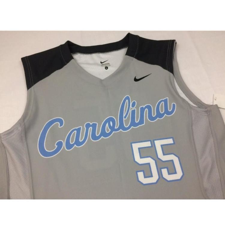 quality design 291c8 d72b6 NIKE basketball jersey sz L unc north carolina tar heels #55 nwt sample