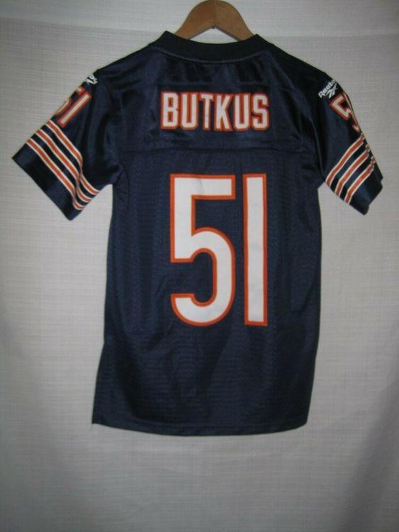 release date: a0609 f3622 Reebok Chicago Bears Dick Butkus Jersey Kids Boys S 8 SEWN | Football  Apparel | SidelineSwap