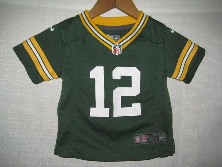 half off 9552f ac0a5 Green Bay Packers Aaron Rodgers Nike Football Jersey Baby Boys 12 Months  Green