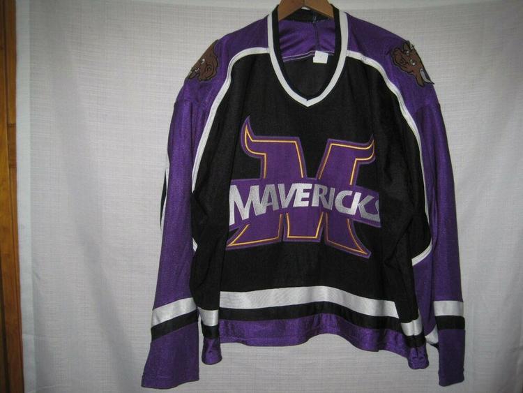 differently 8fada 985f4 Minnesota State Mankato Mavericks Hockey Jersey Kids Boys XL Black
