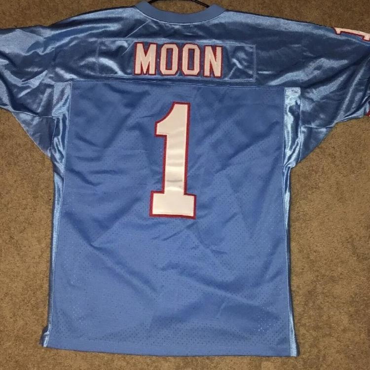 super popular b48c4 91c42 Warren Moon Nfl Houston Oilers New Mitchell & Ness Jersey Adult