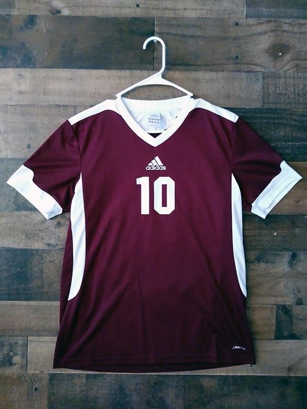 Adidas NCAA College Soccer GANNON UNIVERSITY GOLDEN KNIGHTS Maroon ...
