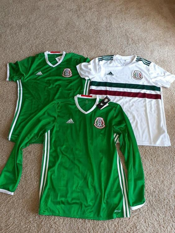san francisco 412d4 89bc5 2016/201 Adidas Mexico Soccer Jerseys Set of 3