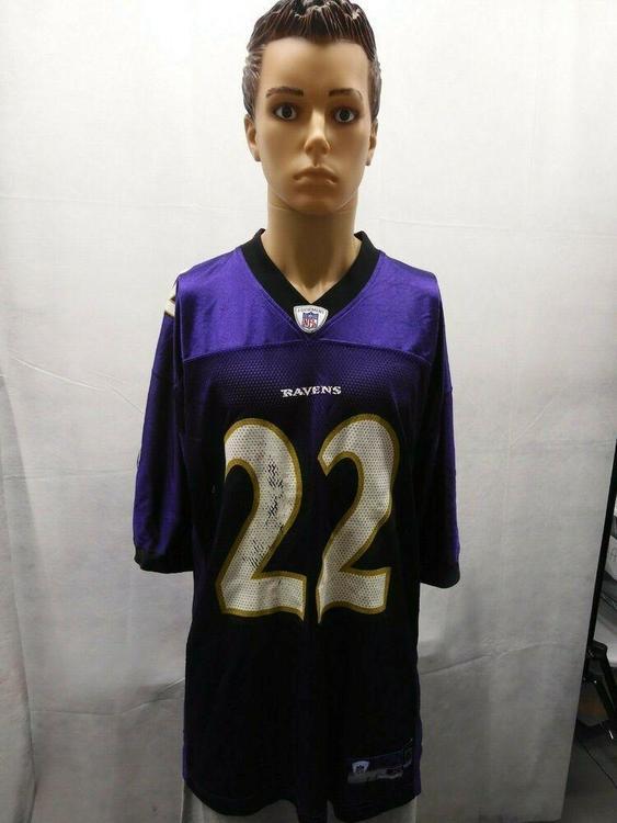 Reebok Samari Rolle Baltimore Ravens Jersey XL NFL