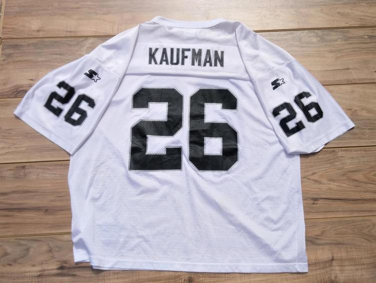 sale retailer 52b16 2c42e Oakland Raiders Vintage Napoleon Kaufman STARTER Jersey Size Adult XXL MINT  CONDITION