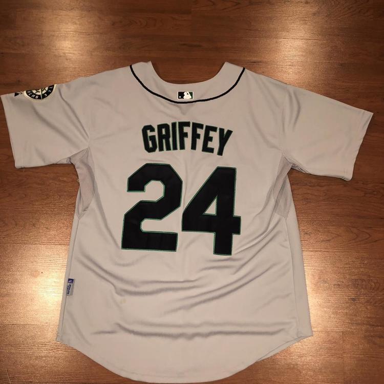 watch 6935b aca1c Ken Griffey Jr. Mariners Jersey Size 50 Large