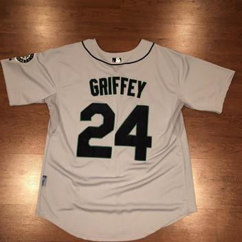 best sneakers 13982 d5334 Mitchell & Ness Ken Griffey Jr. 1995 Authentic Mesh BP ...